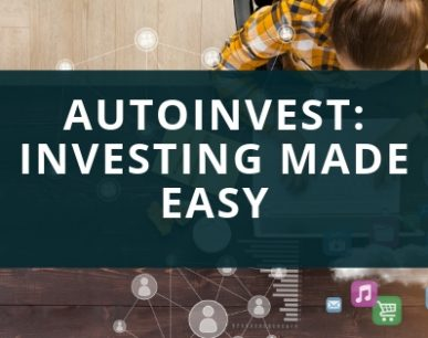 Setting up autoinvest is easy.